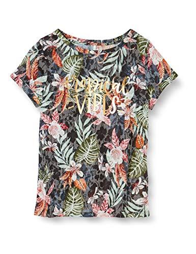 ONLY Damen ONLRILLA S/S O-Neck TOP Box JRS T-Shirt, Kalamata, M