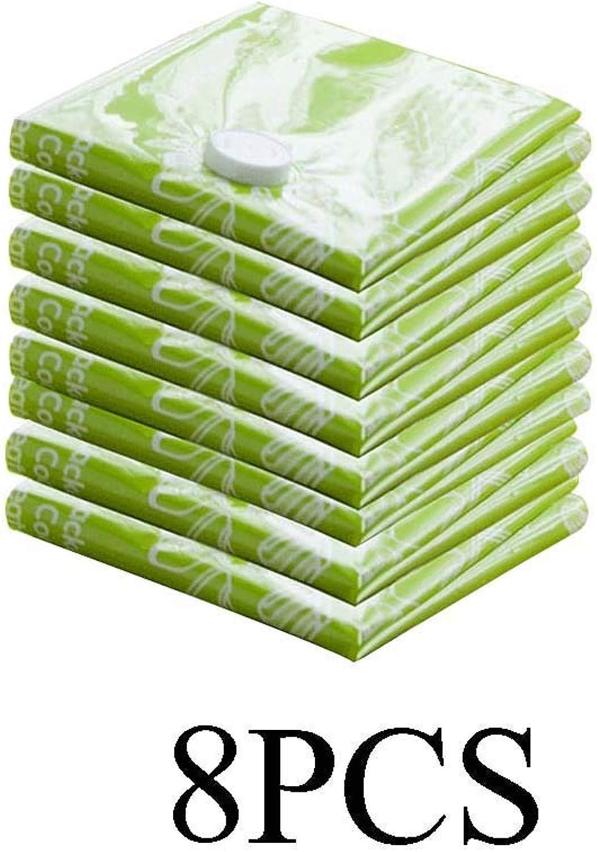 Vakuum-Aufbewahrungsbeutel - 8er Pack (Groß 100  80cm), Premium-Kompressionssiegelbeutel für Bettdecken, Bettwäsche, Vorhänge B07Q69M9W2