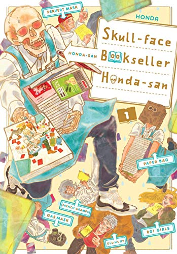 Skull-face Bookseller Honda-san Vol. 1 (English Edition)