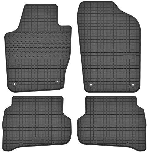Motohobby Gummimatten Gummi Fußmatten Satz für Seat Ibiza IV (08-17) / VW Volkswagen Polo V (08-17) - Passgenau