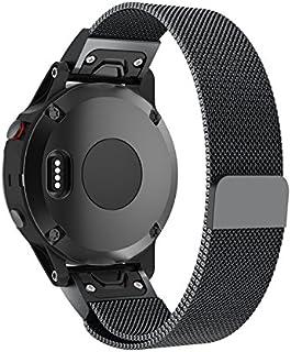 TenCloud Fenix 5S,5S Plus Band 20mm Quick Release,Replacement Solid Stainless Steel Metal Strap for Garmin Fenix 5S&5S Plus Sapphire Smartwatch [NOT for Fenix 5&Fenix 5X]
