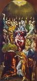 Kunstdruck/Poster: EL Greco Die Ausgießung des heiligen