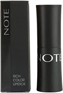 Note Ultra Rich Color Lipstick 4, Red, 4.5g