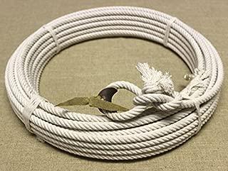mroyalsaddles.com 65ft. Western Cotton Rodeo Rope Lasso Lariat Charro Riata SOGA (R&WH)