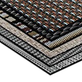 Tapis intérieur extérieur casa pura® résistant, antisalissure, impermeable et antidérapant | nombreux design/tailles | Matera - 60x200cm