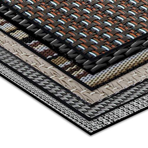 Tapis intérieur extérieur casa pura® résistant, antisalissure, impermeable et antidérapant | nombreux design/tailles | Catania - 60x300cm