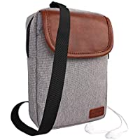 DTH-PANDA Mini Messenger Casual Canvas Shoulder Travel Satchel