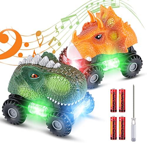 Tencoz Dinosaur Cars, Kids Dinosaur...