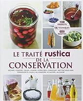 TRAITE RUSTICA DE LA CONSERVATION de Françoise Zimmer