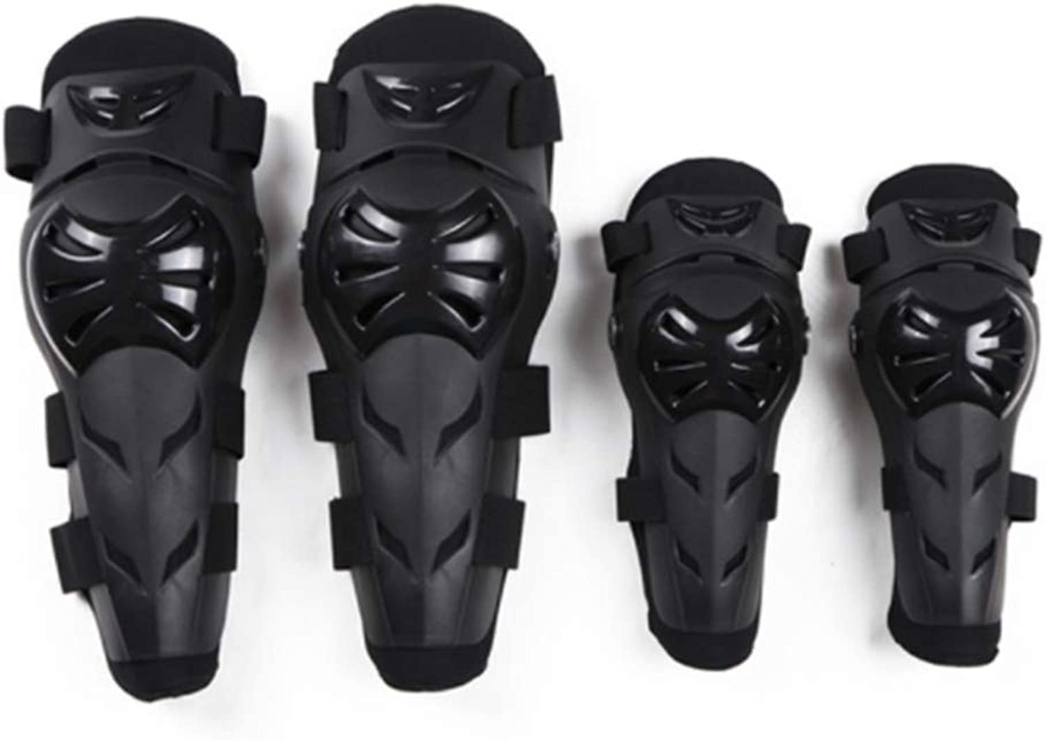 Sububblepper Motorcycle Motocross Cycling Elbow and Knee Pads Predector Guard Armors Set for Riding Cycling Skating4pcs