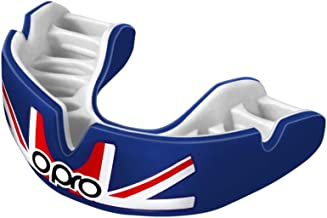 OPRO Power-Fit Countries Mouthguard   Adult Handmade Gum Shield for Football, Rugby, Hockey, Wrestling, and Other Combat and Contact Sports - 18 Month Dental Warranty (Ages 10+)