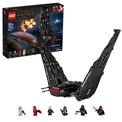 LEGO75256StarWarsLanzaderadeKyloREN,SetdeConstrucciónparaNiñosa Partir de 10añoscon6MiniFiguras