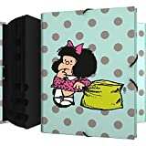 Mafalda 82212610 Colección Mafalda Carpeta Clasificadora, Multicolor, Folio...