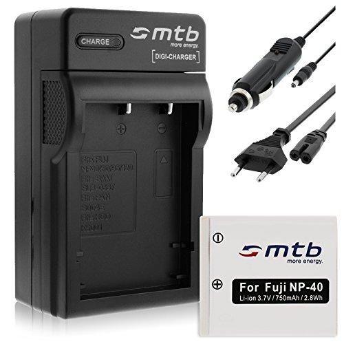 Batería + Cargador (Coche/Corriente) para Pentax D-Li8 D-Li85, Optio A10 A20 A40 E65 L20 S S4.Ver Lista!