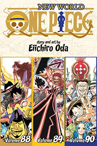 One Piece (3-in-1 Edition), Vol. 30: Includes Vols. 88, 89 & 90 (One Piece (Omnibus Edition), Band 30)