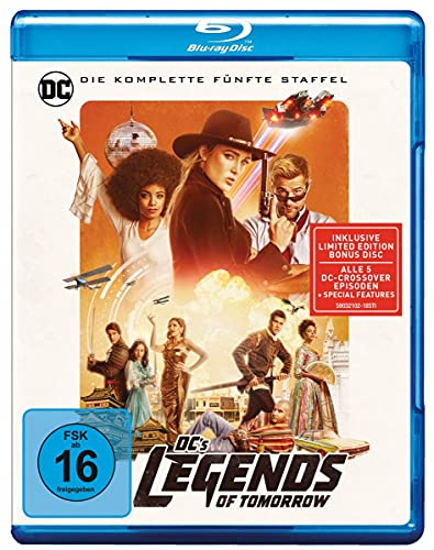 DC's Legends of Tomorrow: Staffel 5 [Blu-ray]