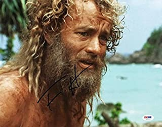 Tom Hanks Cast Away Signed 11X14 Photo Autographed #V47113 - PSA/DNA Certified