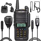 TIDRADIO UV-9R Plus Ham Radio Handheld 2 Way Radio Waterproof Radio with Full House Kits 1 Pack