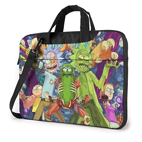 Laptop Sleeve Bag Cartoon Rick Morty Laptop Sleeve Case Cover, 14 inchTablet Briefcase, Notebook Sleeve Case