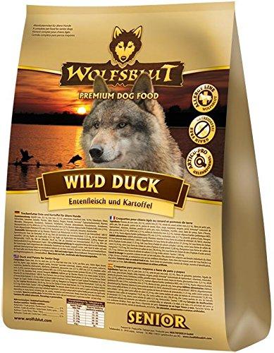 Wolfsblut | Wild Duck Senior | 2 x 15 kg | Ente | Trockenfutter | Hundefutter | Getreidefrei