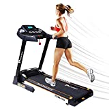 PowerMax Fitness TDM-125 2HP (4HP Peak) Motorized Treadmill with Free Installation Assistance, Home
