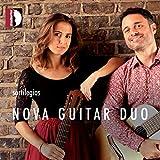 Falla, Mompou, Villa-Lobos : Oeuvres arrangées pour 2 guitares. Duo Nova Guitar.