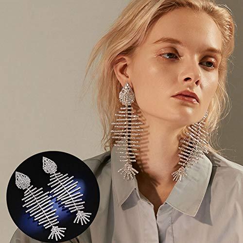 Dames oorbellen vis botten creatieve persoonlijkheid Zirkonia Studio-oorbellen indrukwekkende geschenken voor de bruid van de moeder van de bruid