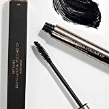 Extreme Luxury, Intense Oil Free 3d Fiber Formula Waterproof Black Voluminous Eyelash Extension Mascara, Lengthening, Thicker, Long Lasting, Smudge-Proof, Cruelty Free, 0.27fl.oz
