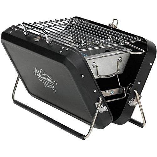 Gentlemen's Hardware - Barbacoa portátil estilo maleta – hábilmente disfrazada como una maleta,