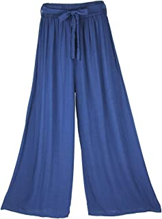 Women's Pants Wide Leg Trousers Lounge Pants Casual Loose Elasticated High Waist Baggy Tracksuit Bottoms Comfortable Breat...