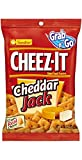 Cheez-It Baked Snack Crackers, Cheddar Jack, 3 oz Bags (Pack of 24)
