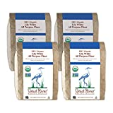 Great River Organic Milling, Lily White Flour, Bread Flour, All-Purpose, Organic, 5 Pounds (Pack of 4)