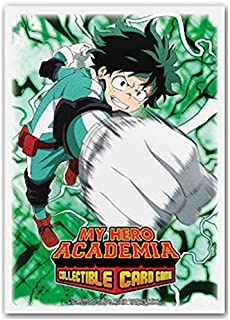 Dragon Shield Sleeves - Matte Art My Hero Academia Deku 100 CT – MGT Card Sleeves are Smooth & Tough – Compatible with Pok...