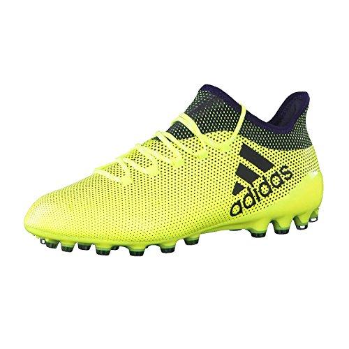 adidas X 17.1 AG, Botas de fútbol Hombre, Amarillo (Amasol/Tinley/Tinley), 43 1/3 EU