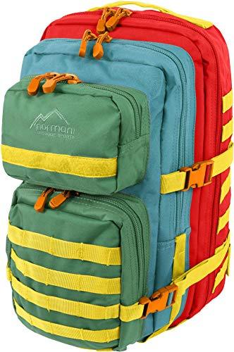 normani Kabinenrucksack geeignet als Handgepäck im Flugzeug, großer Reiserucksack mit 45 Litern Fassungsvermögen Farbe Nanay