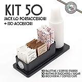 Kit Accesorios Café: 50 Vasos, Azúcar, Cucharillas + Envase cafe...