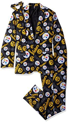 FOCO NFL Repeat Ugly Business Suit para hombre, Repetir traje de negocios feo, Color del equipo, Mediano