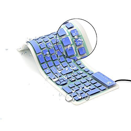 CHIN FAI, Teclado enrollable para PC