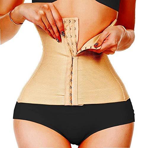Dilency Sales Efffective Seamless Tummy Tucker Belt for Women (Free-Size -Comfortable for 32 to 38 Waist Size) (Hook-Belt -Skin)