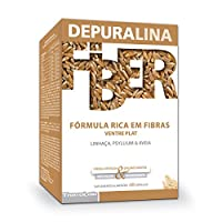 Depuralinaの繊維およびビタミン60のカプセル