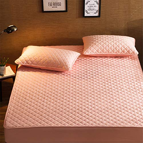 YCDZ Mattress Protective Cover, Anti-allergic, Breathable, Anti-bugs and Mites, No Odor, Suitable for All Bed Types (Jade,135x190cm)