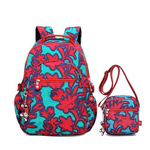 SFBBBO backpack School Bags for Teenage 2pcs Bag Set Backpacks Students Book Bags Crossbody Satchel Rucksack 30CMX18CMX42CM982 14