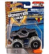 HW 2018 Hot Wheels Monster Jam Soldier Fortune Black Ops (Mud 4/6) Recrushable Car