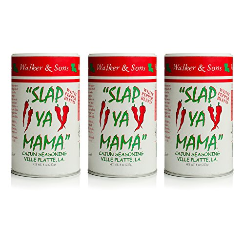 Slap Ya Mama White Pepper Blend 8oz, Pack of 3