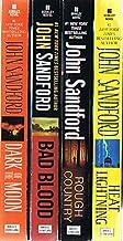 Virgil Flowers Novels, 4 Books: Dark of the Moon / Bad Blood / Rough Country / Heat Lightning