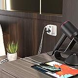 LENCENT Reiseadapter UK Adapter England Deutschland Stecker mit 3 USB/1 Typ C/AC Steckdosenadapter Reisestecker Stromadapter für Großbritannien Irland Wand Ladegerät Ladestation, Adapter Steckdose - 3