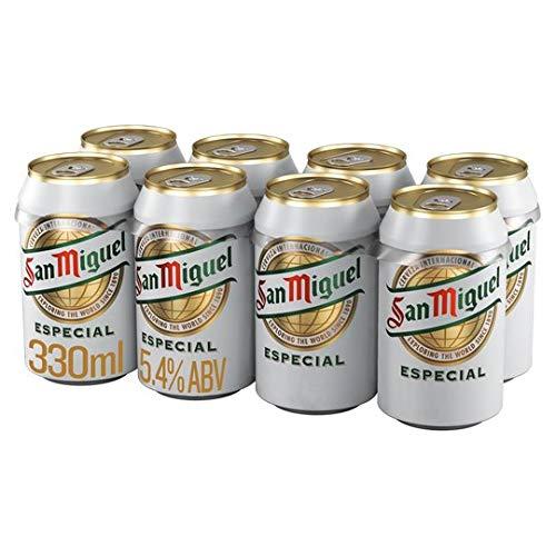 San Miguel Bier aus Spanien 24X0,33l Dosen