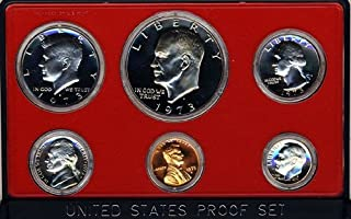 1973 S Clad Proof 5 Coin Set in Original Government Packaging Proof