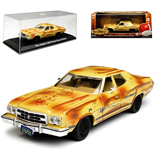Greenlight Ford Gran Torino The Dude´s The Big Lewoski 1973 1/43 Modell Auto