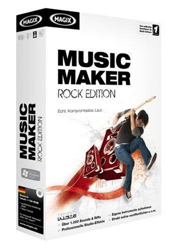 MAGIX Music Maker Rock Edition